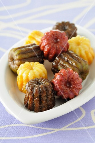 Different flavored Cannelés
