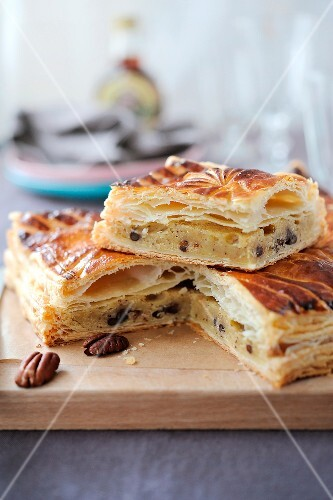 Coconut and chocolate chip Galette des rois