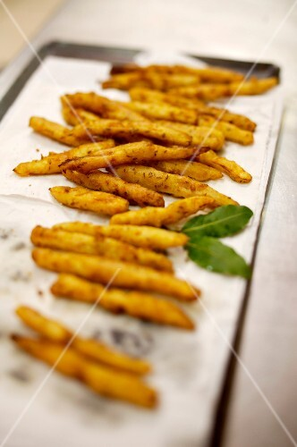 Salsify fritters
