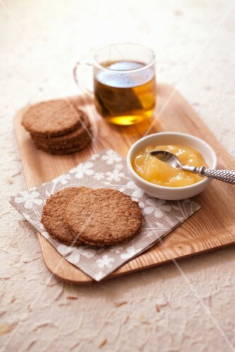 Homemade Digestive biscuits