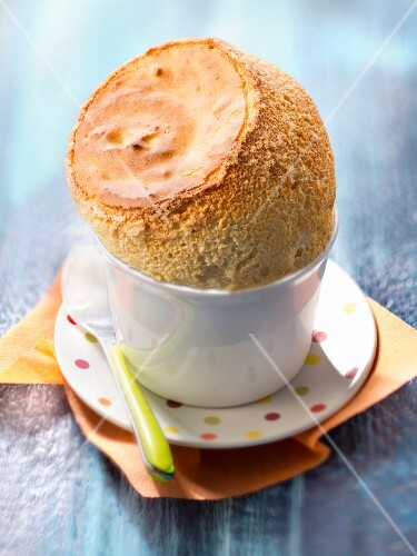 Coffee and Grand-Marnier soufflé