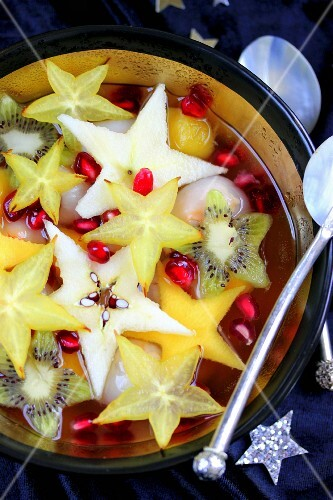 Party star fruit salad