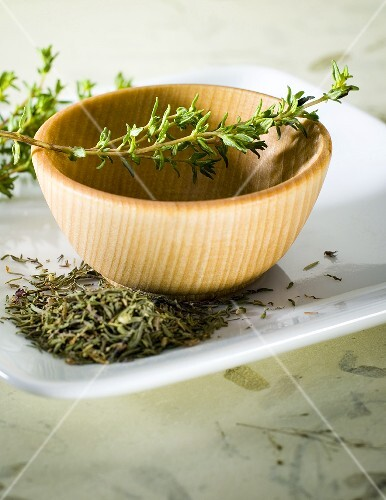 Thyme, fresh and dried
