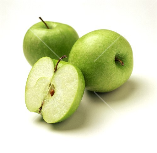 Three Granny Smiths