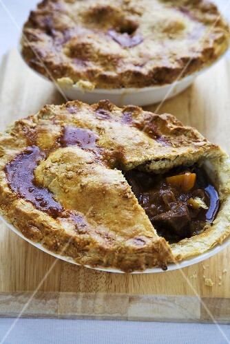 Individual Steak and Mushroom Pies