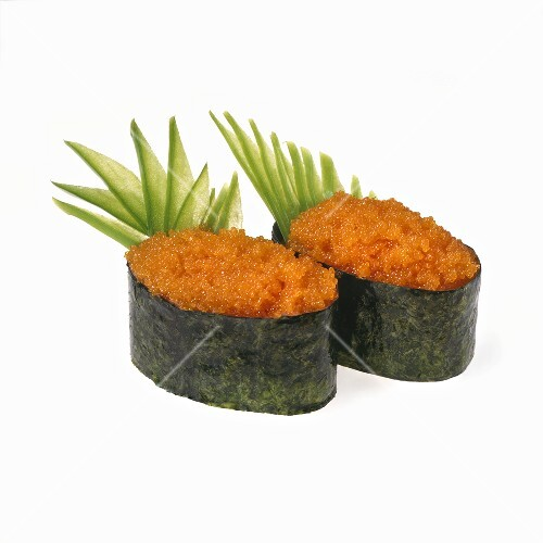how to cook flying fish roe