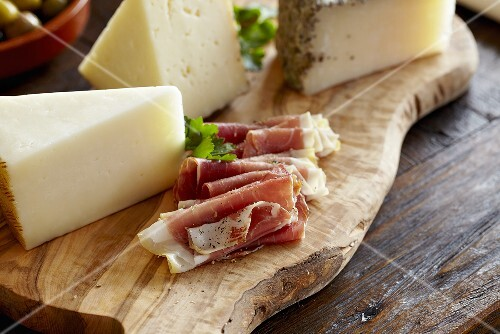 Cheese and Italian Meat Board