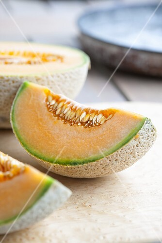 Fresh Cantaloupe Wedges