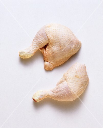 Chicken thighs with and without back piece