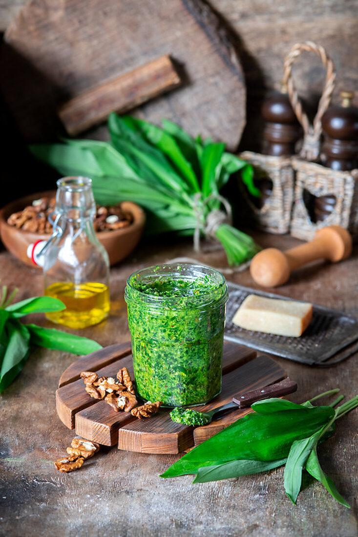 Wild Garlic Greens