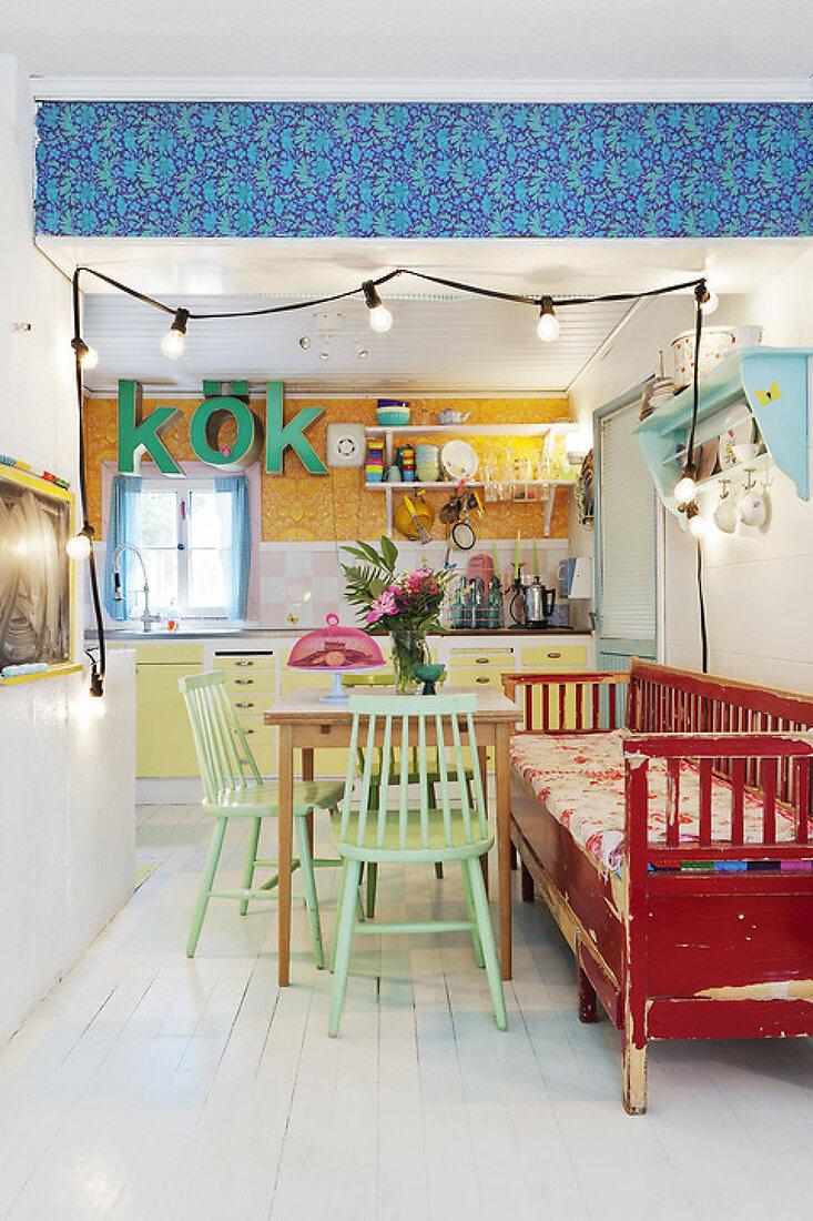 Lovisas Colorful Summer Cottage