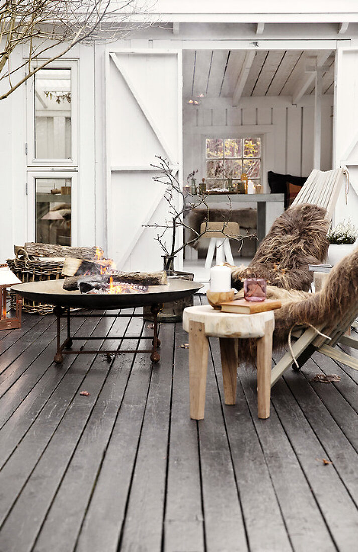 Autumn Terrace