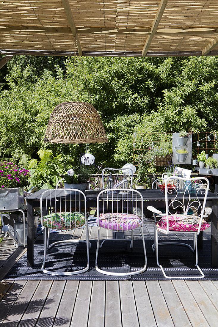 Lush Summer Terrace