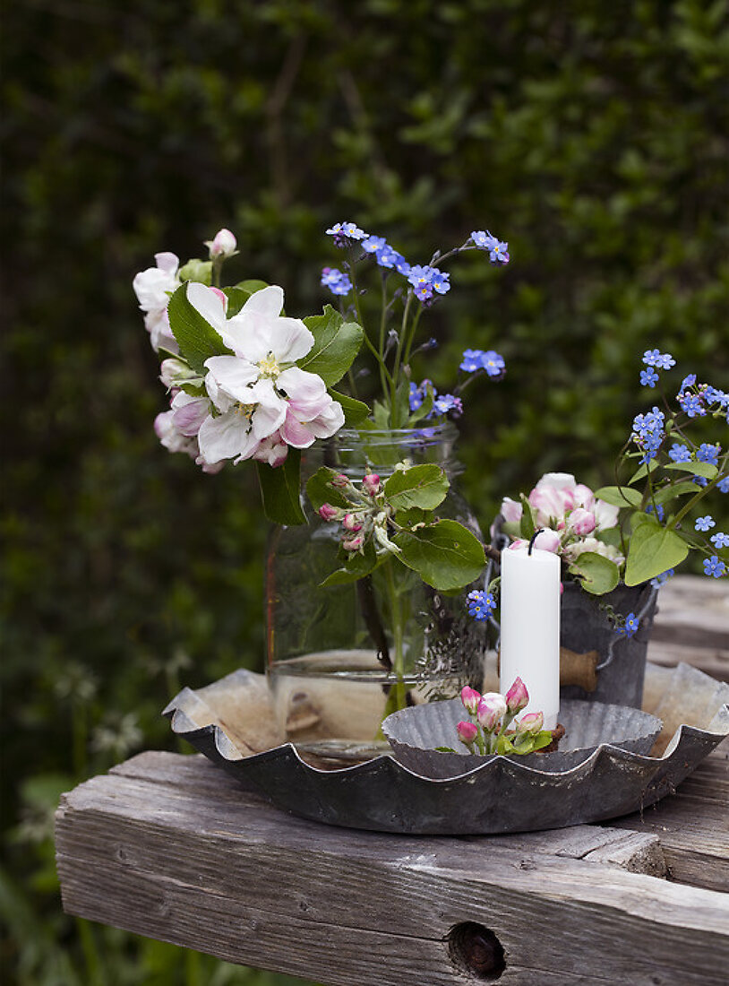 Decorate with Blue and Pink