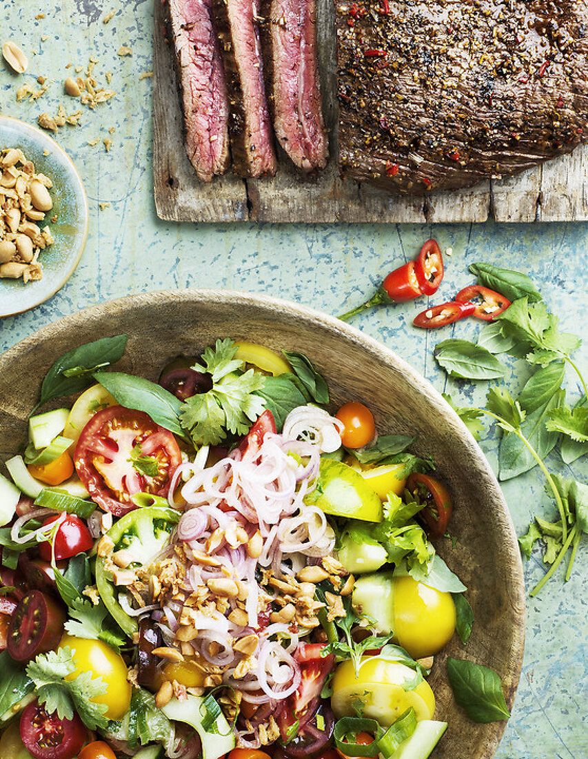 Colorful Summer Salads