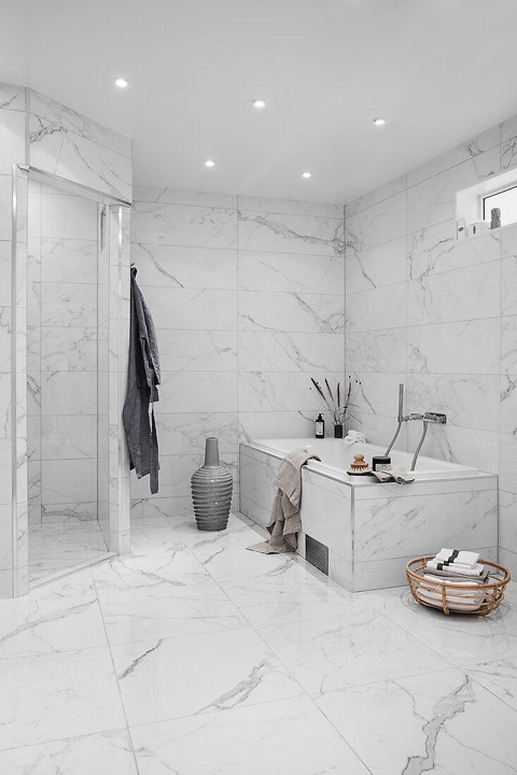 Elegant Bathroom Transformation