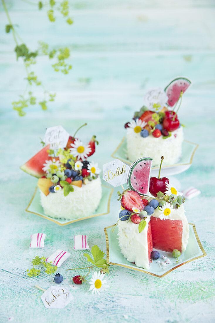 Festive Watermelon Bites