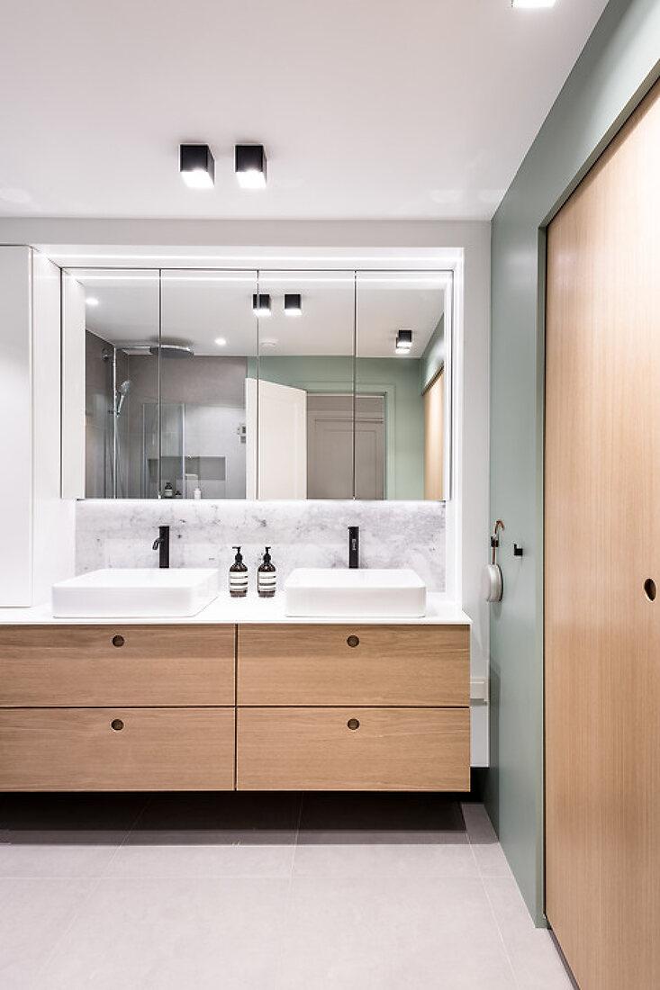 Now a Green, Clean & Flexible Bathroom