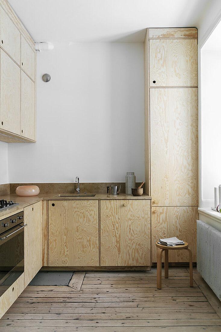 Raw Wooden Kitchen