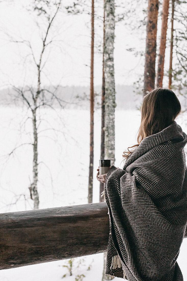 Outdoor Indoor Hygge Wintertime