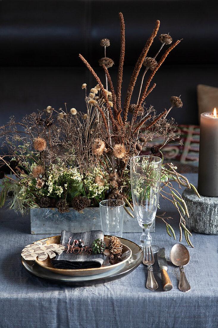Nature's Christmas Table