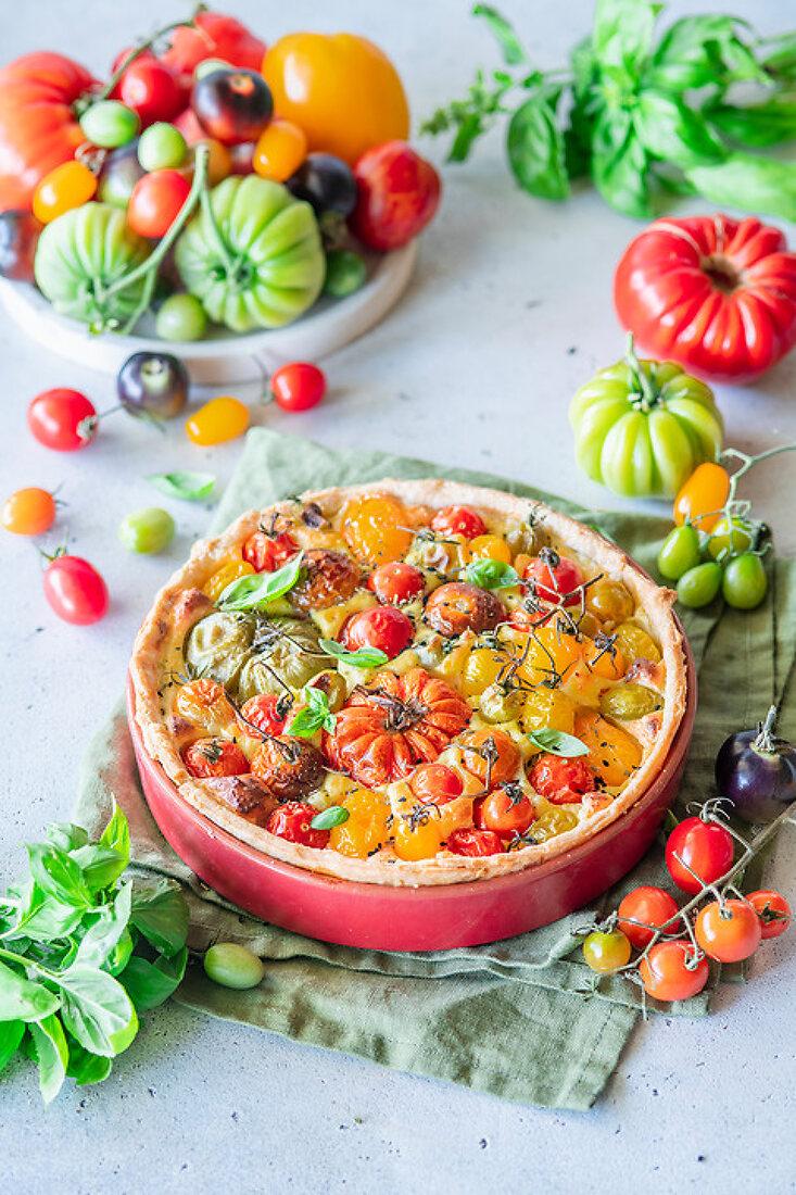 Cornucopia of Tomatoes