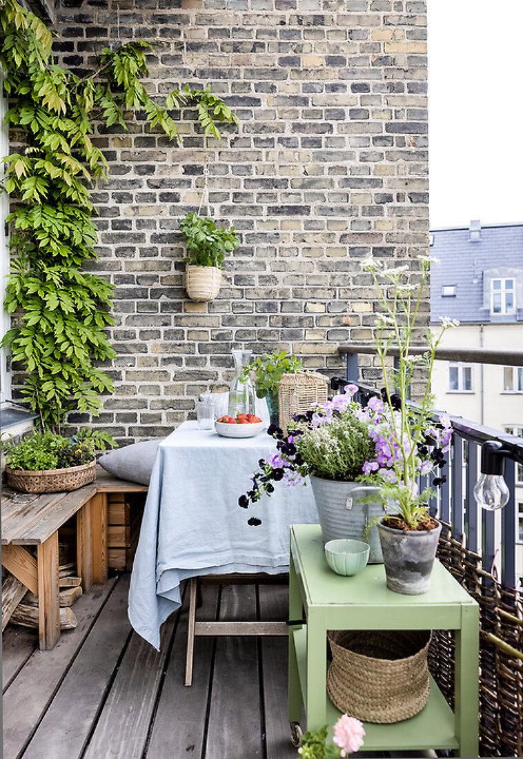 Herbal Container Garden