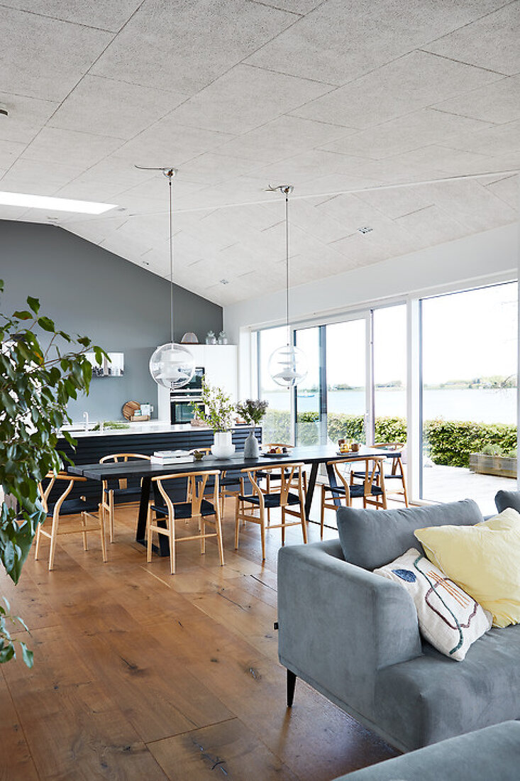 Architectural Family House by the Waterfront