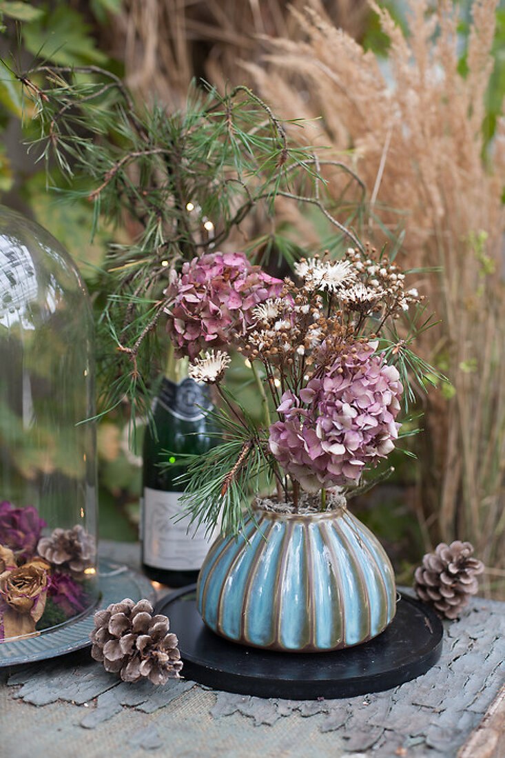 Dried Flowers for Winter Decorations