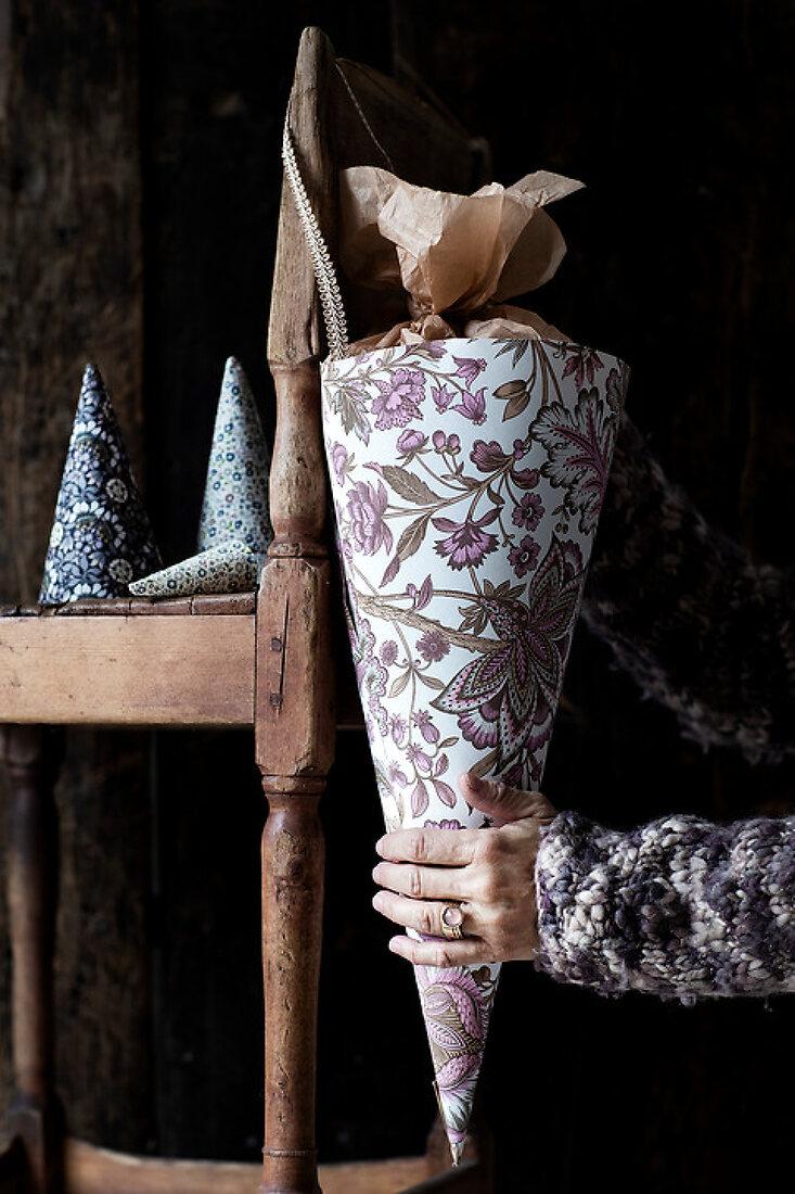 Decorative Cone Vessels
