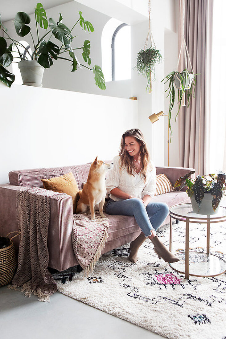 Tanja´s DIY Home in a Former Warehouse