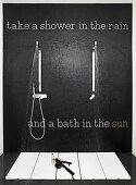 Take a Shower in the Rain
