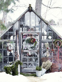 Christmas in the Greenhouse