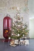 Three Styles of Christmas Trees