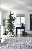 Cozy Christmas Living
