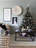 Stylish Christmas in a small Space