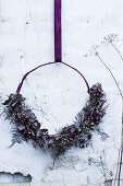 Winter Wreaths DIY