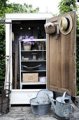 Make a Garden tools Shed