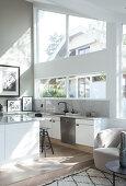 An airy balanced Kitchen
