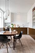 Contemporary Cozy Kitchen