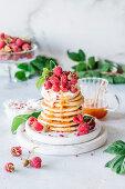Raspberries & Cream
