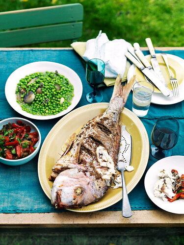 Late Summer Seafood
