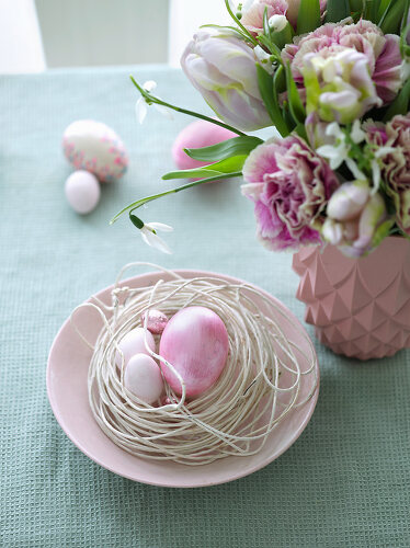 Easter Pastel Traditions - 12427920