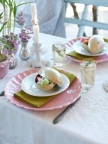 A Cosmopolitan Easter Menue