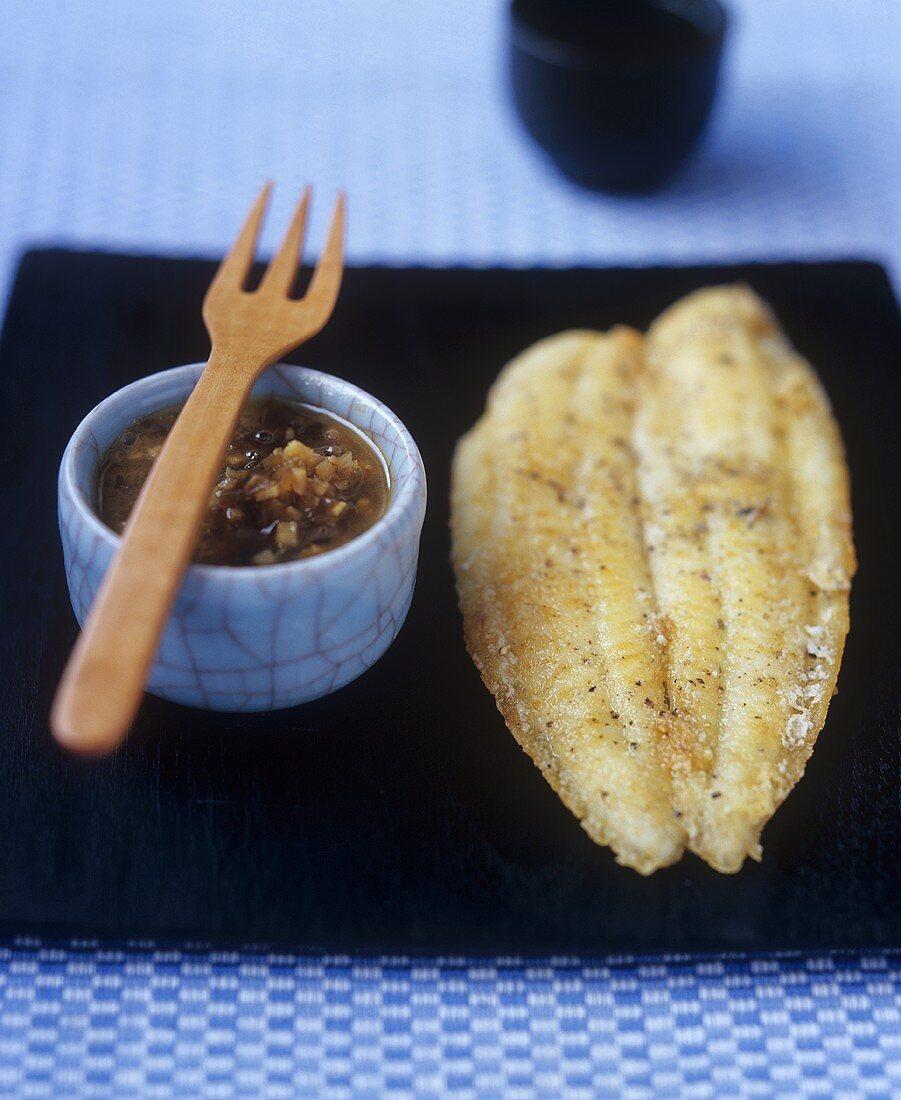 Balinese crispy fish (Fried fish fillet, Bali)
