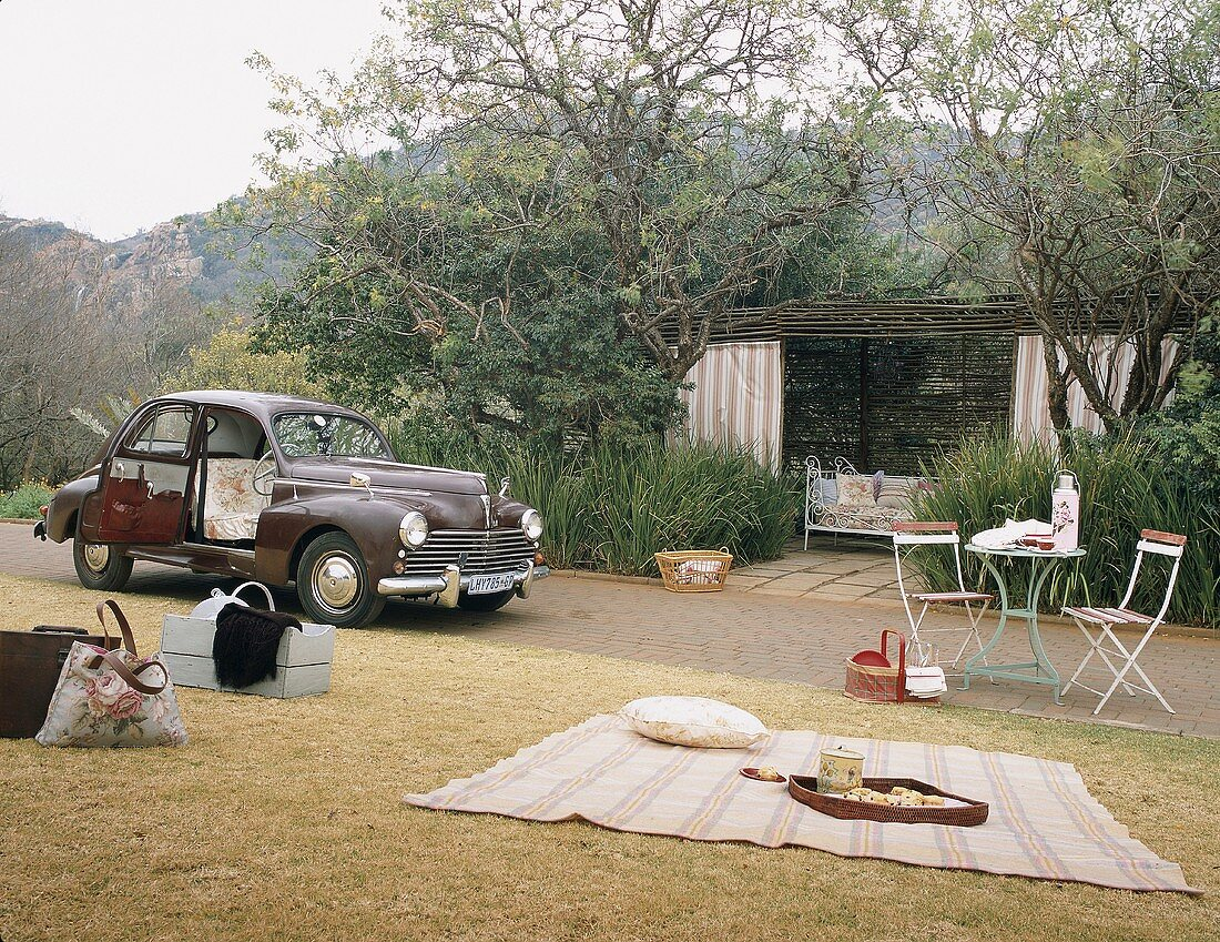 Picnic in open air
