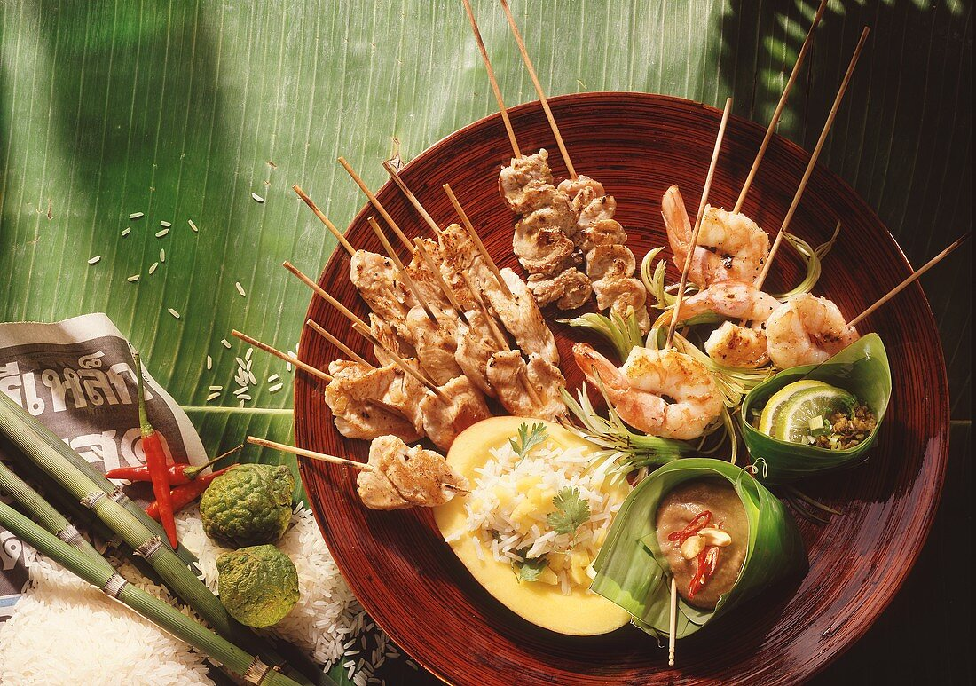 Low-calorie feast in Thailand
