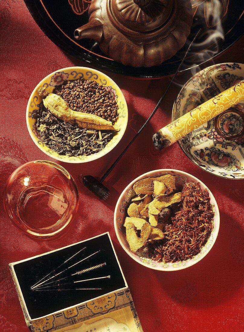 Hilfsmittel in der traditionellen chinesischen Medizin