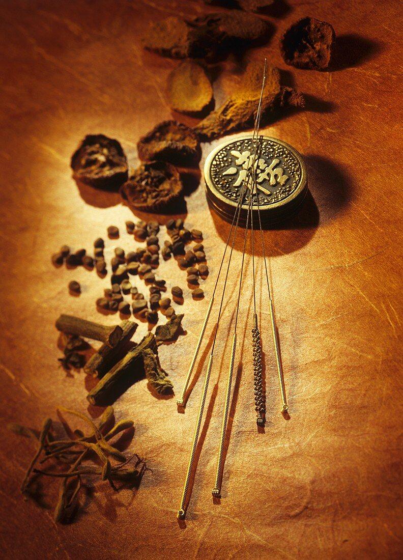 Akupunkturnadeln & Arzneimittel der chinesischen Medizin
