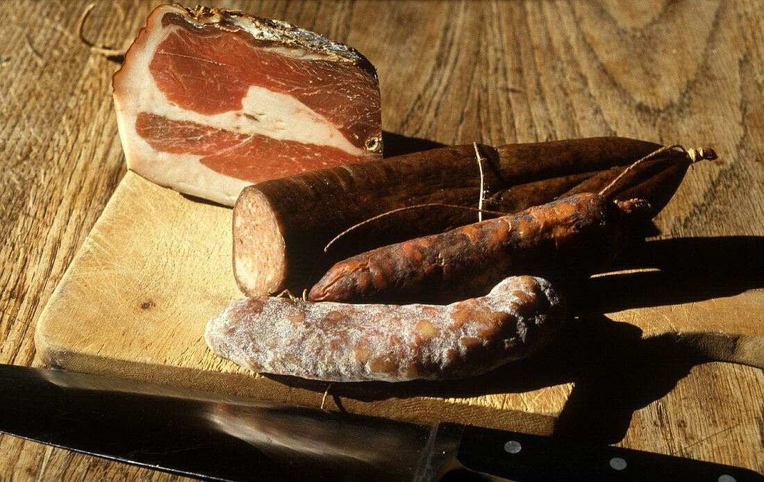 Engadin Ham & Hard Sausages